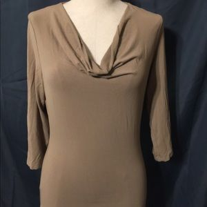 Kenneth Cole Reaction Size Large Tan Shirt